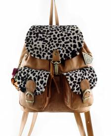 SOL backpack tan brown