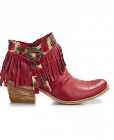 Leather Boots Winona Bordeaux