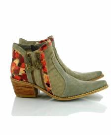 Leather Boots Eva Grey
