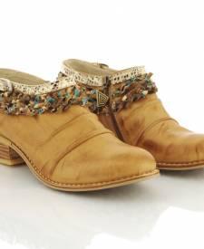 Leather Boots Maka Terracotta