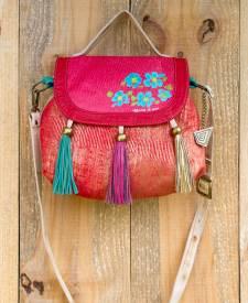 Ishani Handbag With Art