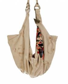 Bat Handbag With Art