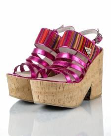 Sandals KALA fuchsia