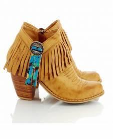 Leather Boots Winona Terracotta