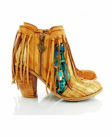 Leather Boots Kimana Gold
