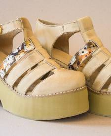 Mitali Sandals Ivory Color