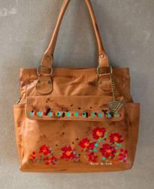 Verona Handbag With Art