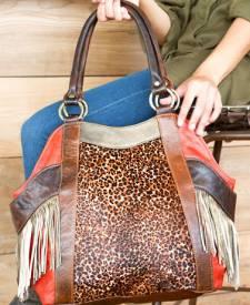 Bolonia Handbag With Art