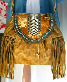 Trevi Handbag With Art