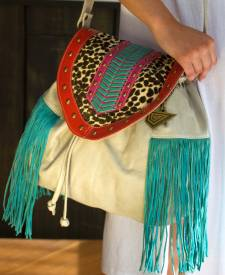 Trevi Handbag With Art