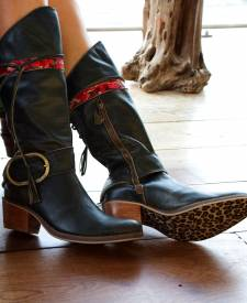Halona Leather Boot