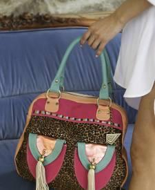 Babilonia Leather Handbag