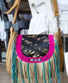 Bari Handbag With Art