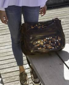 Citera Handbag With Art