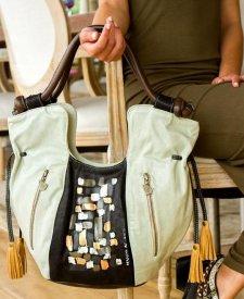 Modena Handbag With Art
