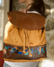Backpack Pitti Terracotta