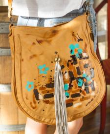 Ara Handbag With Art