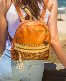 Triana Leather Backpack