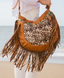 Fara Handbag with fringes
