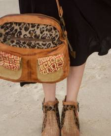 Callia Handbag Animal Print