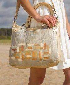 Bella Handbag With Art