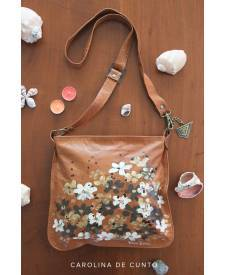 Camelia Bag With Flowers
