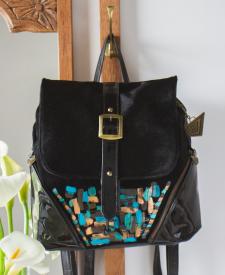 Ikaria Leather Backpack