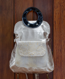 Olimpia backpack Gold