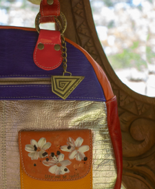 Leather Handbag Juana Combined