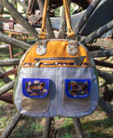 Leather Handbag Juana Combined