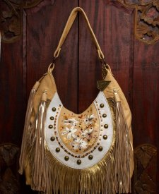 Goa Handbag With Fringes