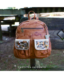Backpack Jimena Caramel Art