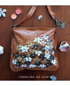 Camelia Bag With Flowers