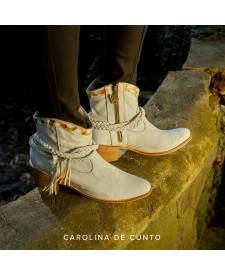 New Boots White MAHOLA
