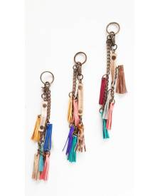 Fringe accessory - keychain
