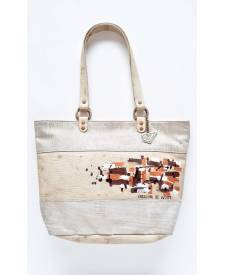 Séneka handbag with art