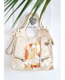 Andrea Handbag With Art