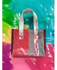 Chenia Handbag With Art