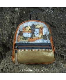 Triana Leather Backpack Art