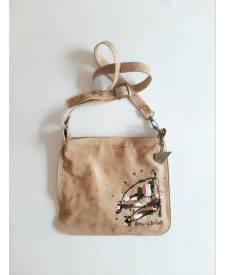 Camelia leather bag