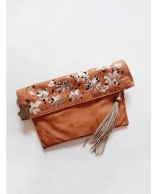 Juliana Leather Clutch