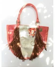 Luciana Handbag With Art