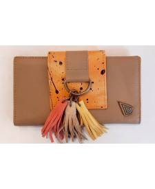 Lady´s Wallet Book Brown