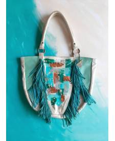 Luciana Handbag With Art