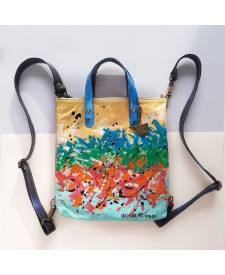 Allegra Handbag With Art