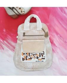 Freya leather backpack