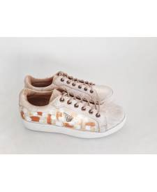 Leather Sneakers Dasha Ivory