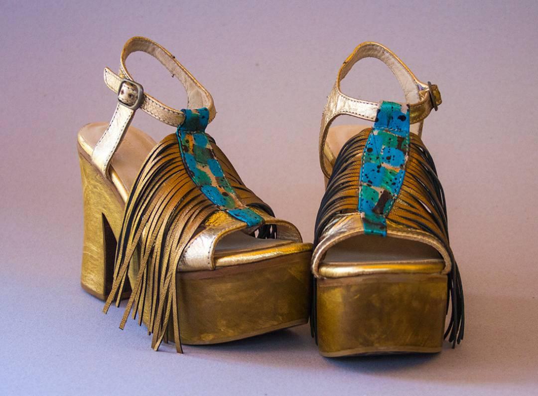 Leather shoes, Carolina De Cunto