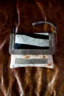 Olie Leather Clutch