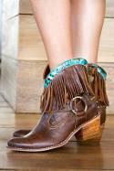 Leather Boots Takoda Marfil